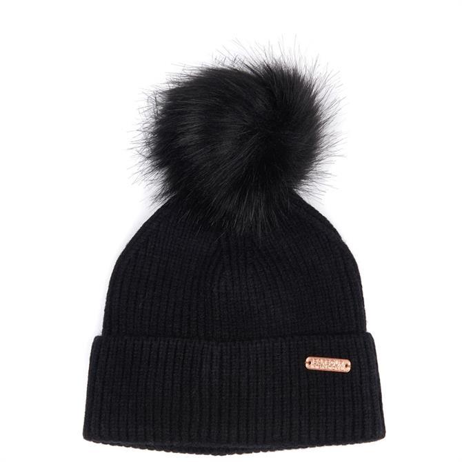 Barbour International Mallory Pom Beanie Hat