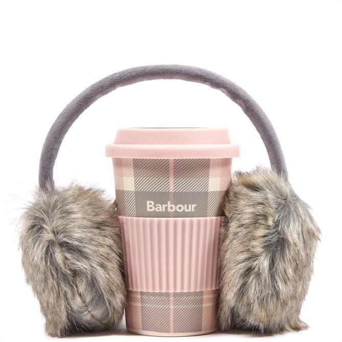 Barbour Travel Mug & Earmuff Gift Box Set