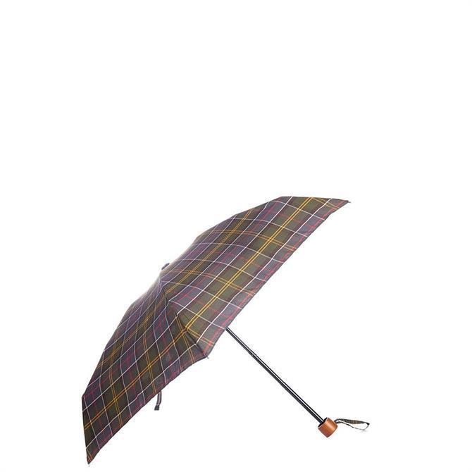 Barbour Tartan Handbag Umbrella