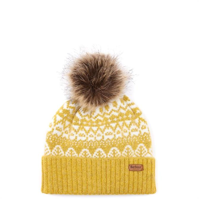 Barbour Alpine Fairisle Pom Beanie