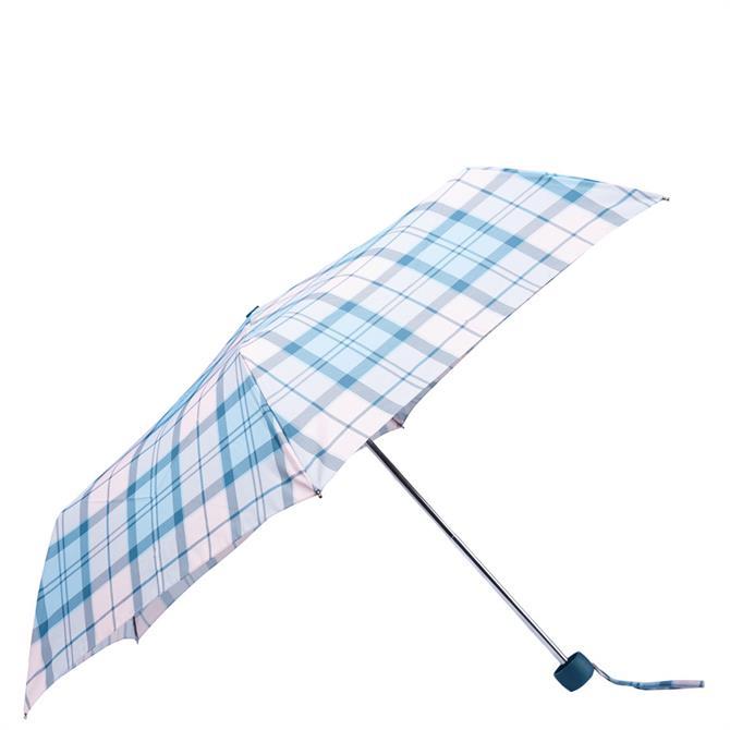 Barbour Portree Blossom Tartan Umbrella