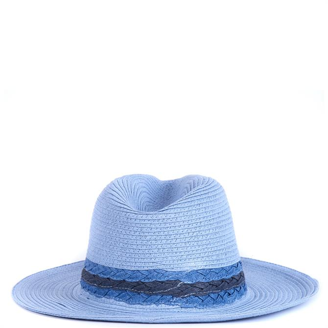 Barbour Ashore Blue Fedora Hat
