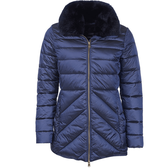 Barbour Women's Shannon Mid-Length Quilted Jacket