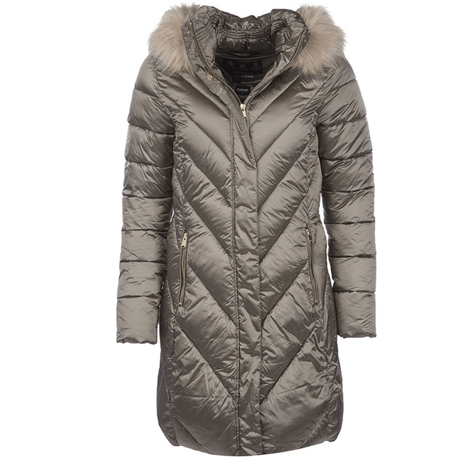 Barbour Women's Reesdale Longline Quilted Jacket