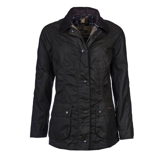 Barbour Classic Beadnell ® Olive Wax Jacket