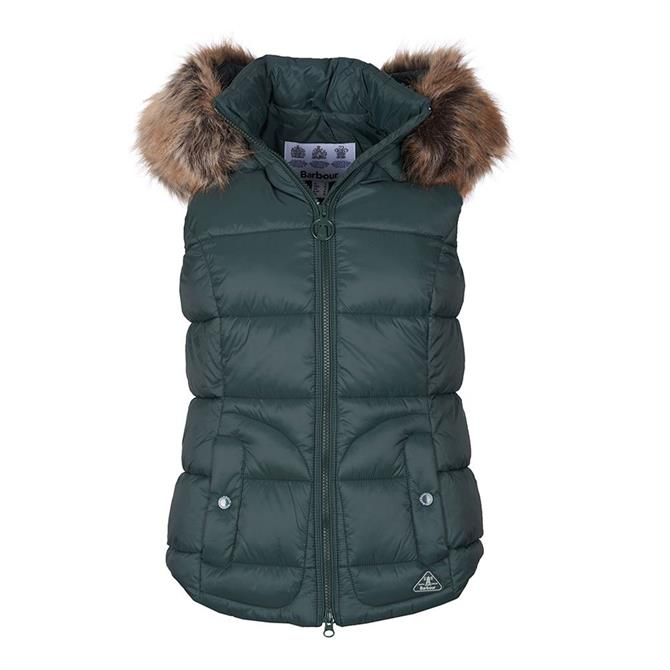 Barbour Dover Isle Green Gilet
