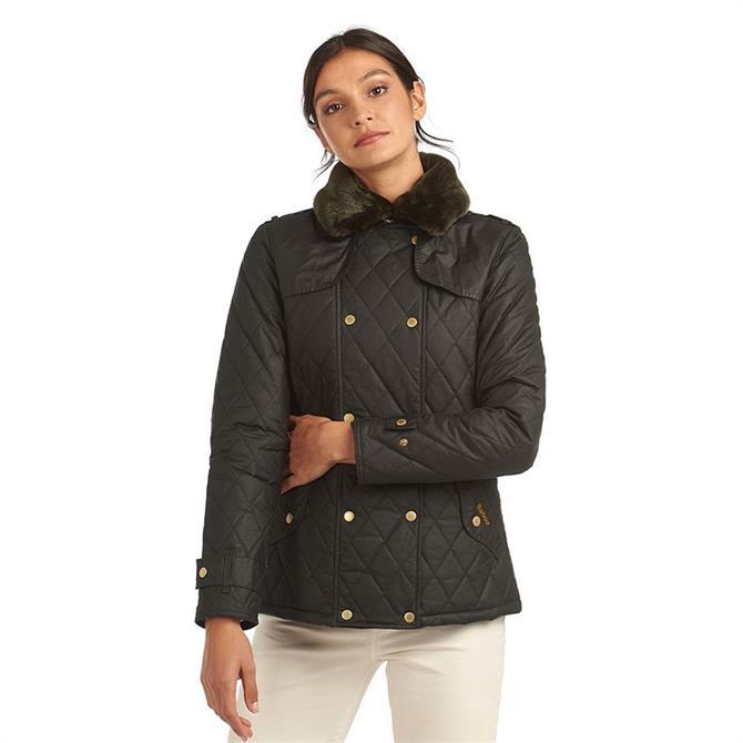 Barbour Elmis Waxed Cotton Jacket