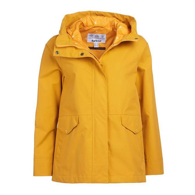 Barbour Mersey Waterproof Ochre Jacket