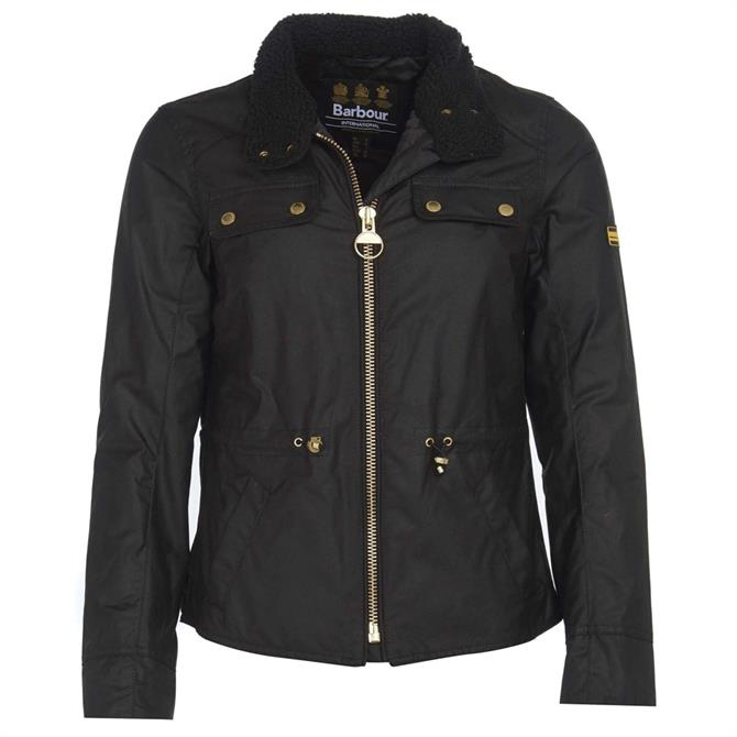 Barbour International Trial Waxed Cotton Jacket