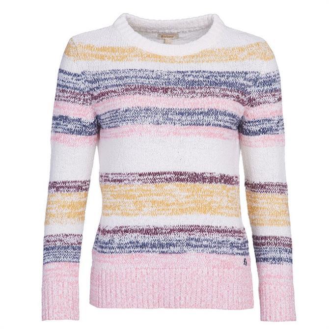 Barbour Auklet Multi-Coloured Stripe Sweater