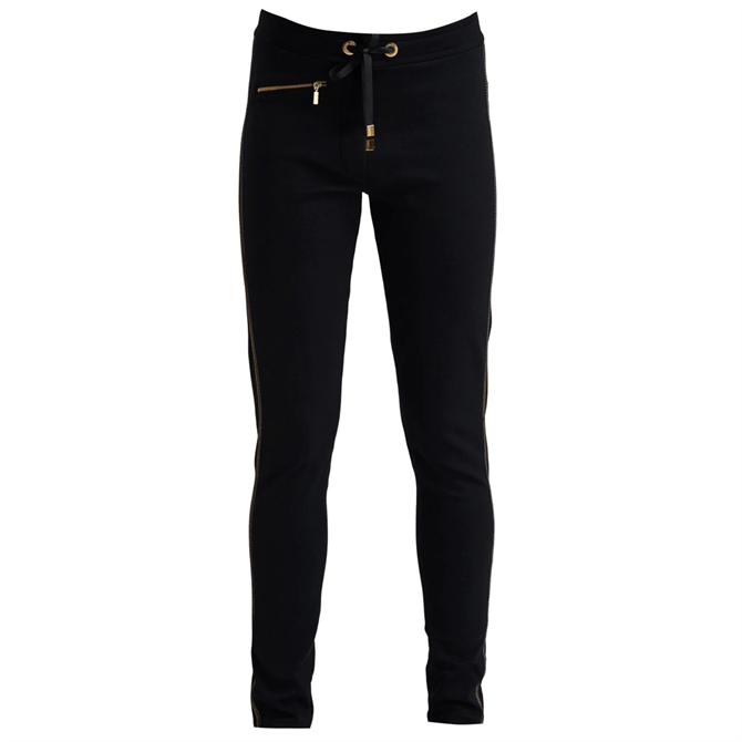Barbour International Women's Gold Trim Track Trousers