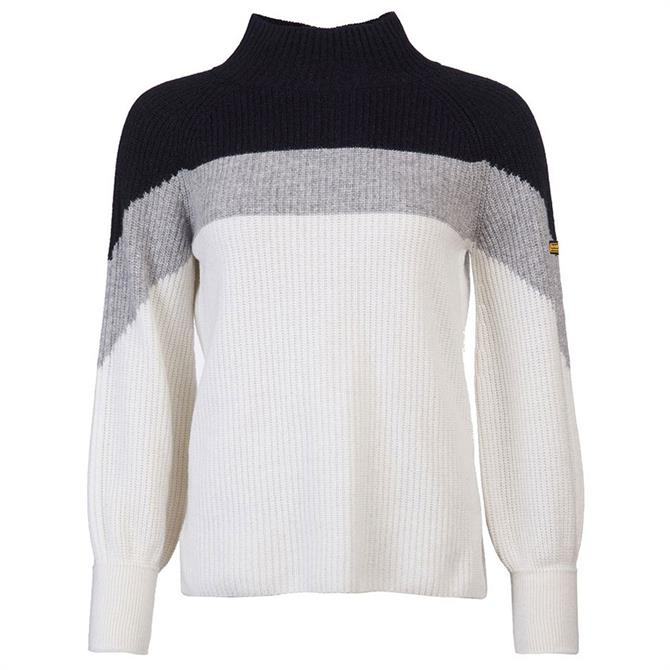 Barbour International Cadwell Funnel Neck Sweater