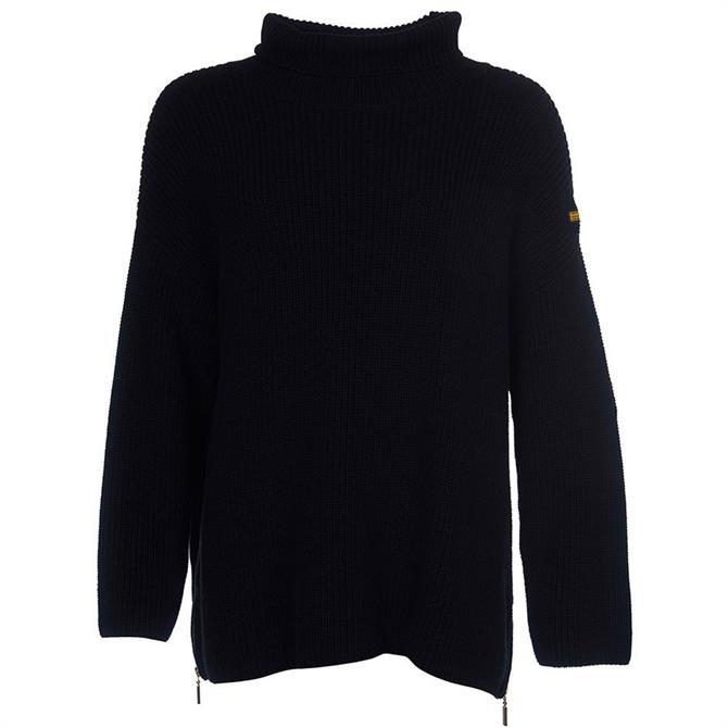 Barbour International Kendrew Roll Neck Sweater