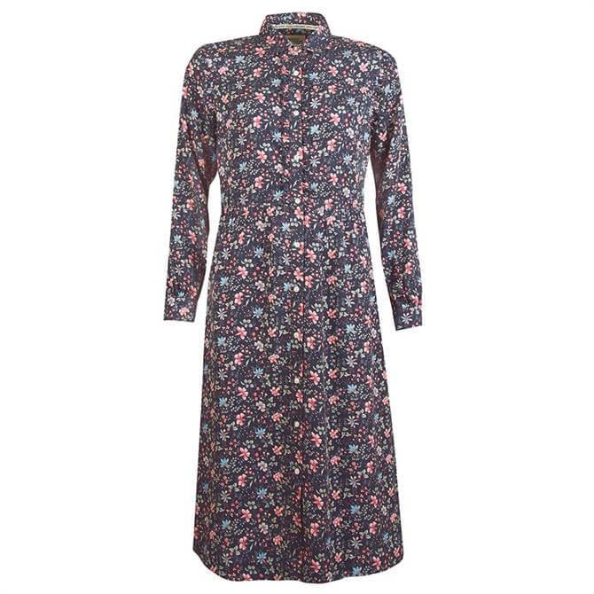 Barbour Laura Ashley Elm Floral Shirt Dress
