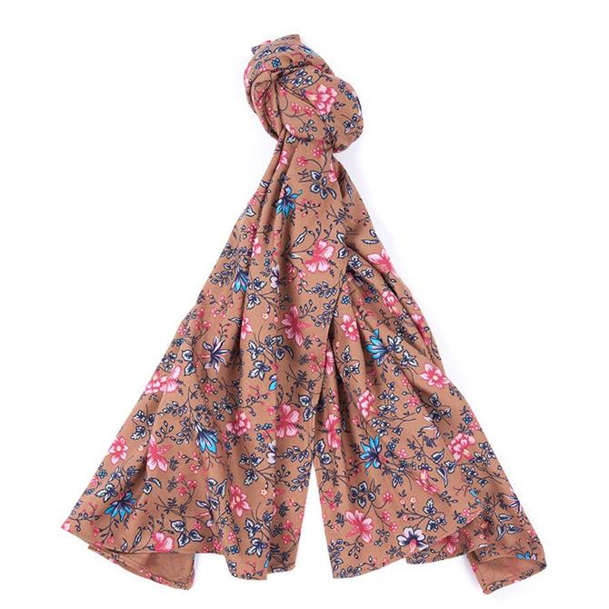 Barbour Laura Ashley Spruce Floral Scarf