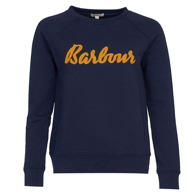 Barbour Logo Otterburn Sweatshirt