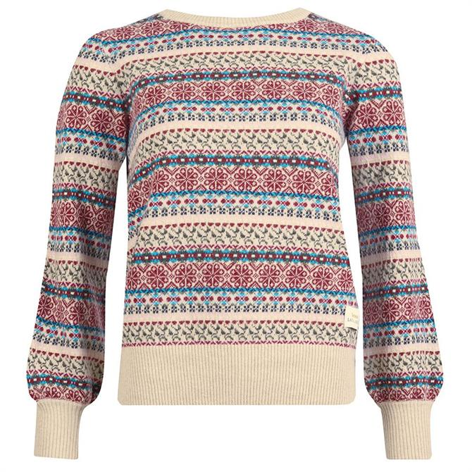 Barbour Laura Ashley Poplars Fairisle Sweater