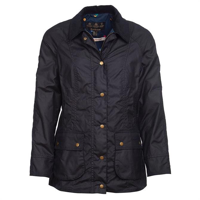 Barbour X Emma Bridgewater Eleanor Waxed Cotton Jacket