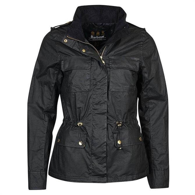 Barbour International Baton Waxed Jacket