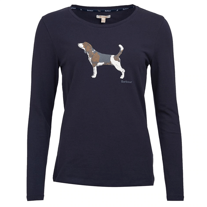 Barbour Audley Long Sleeve T-Shirt