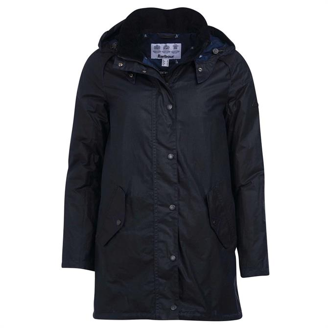 Barbour Oceanfront Waxed Cotton Jacket