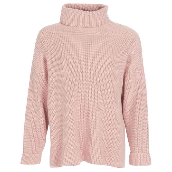 Barbour Soft Pink Stitch Cape