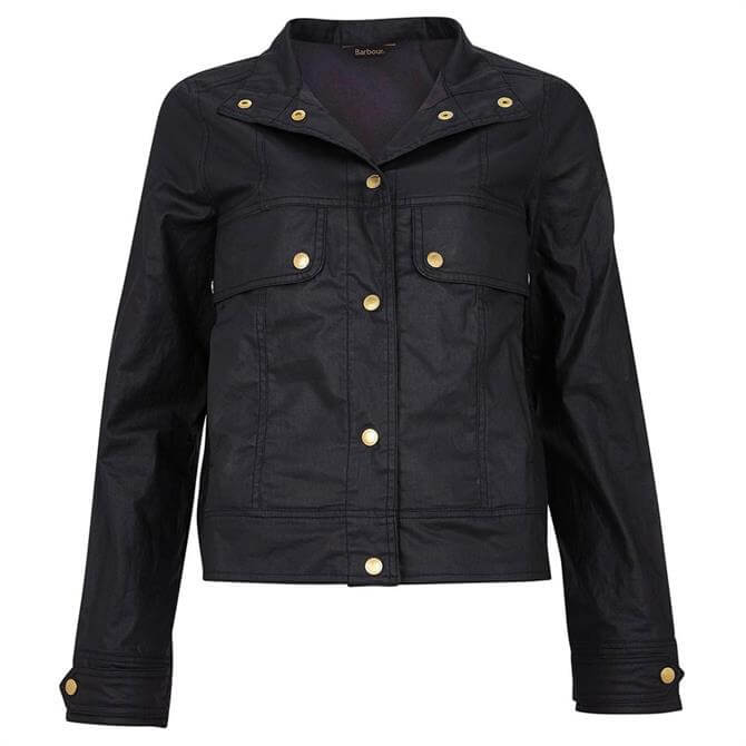 Barbour International Black Reine Casual Jacket