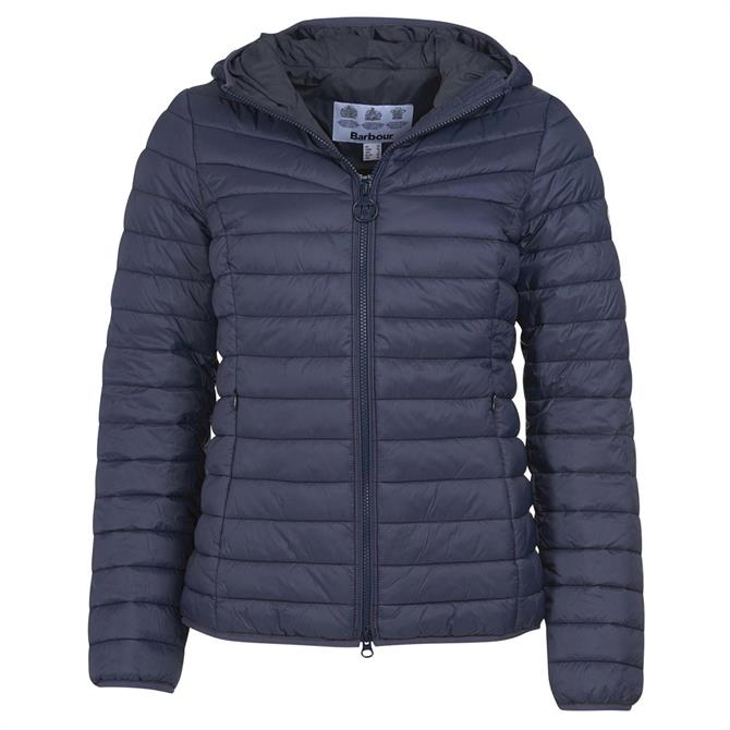 Barbour Hopper Navy Quilted Jacket