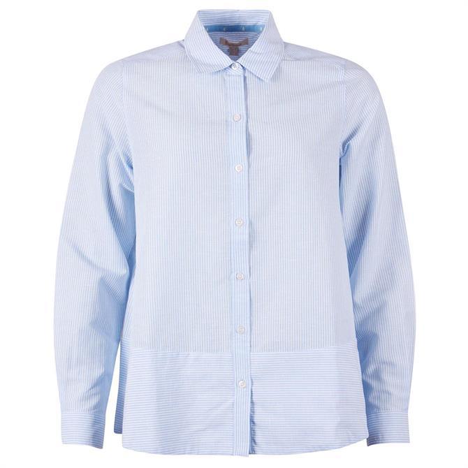 Barbour Longstone Blue Striped Shirt