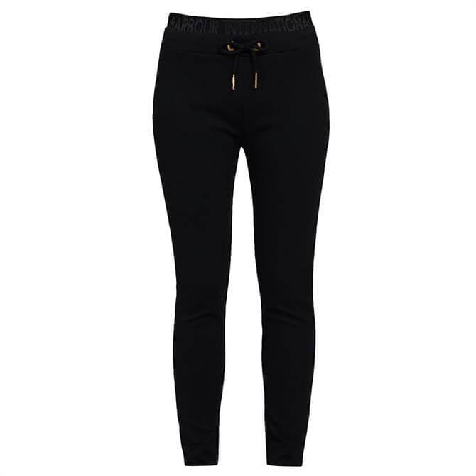 Barbour International Hallstatt Black Jogger Trousers