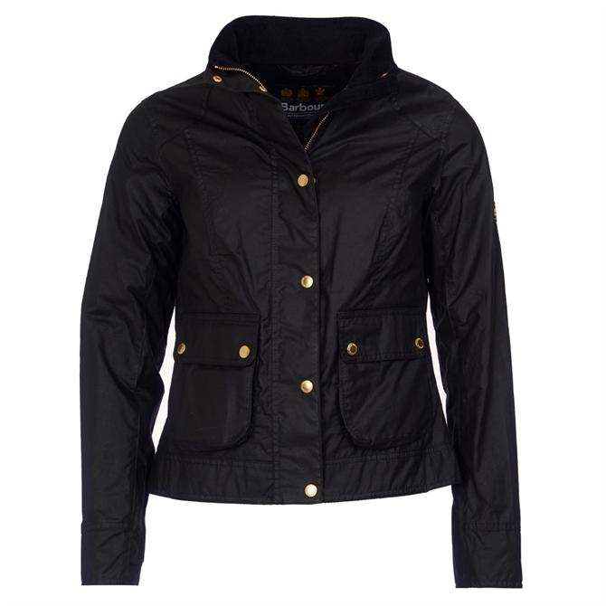 Barbour International Livingo Waxed Cotton Jacket