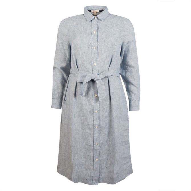Barbour Tern Chambray Shirt Dress