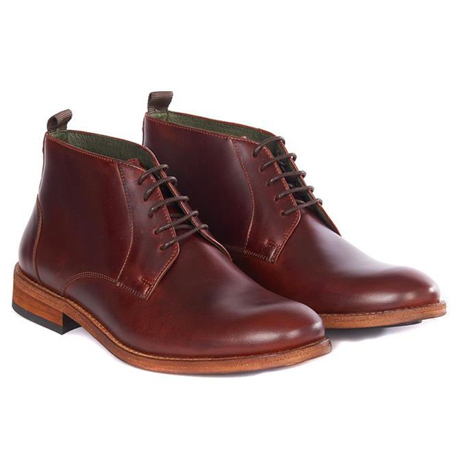 Barbour Benwell Brown Leather Chukka Boot