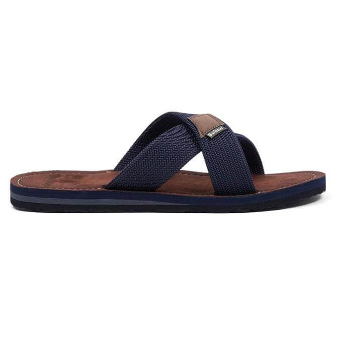 Barbour Ash Navy Beach Sandals