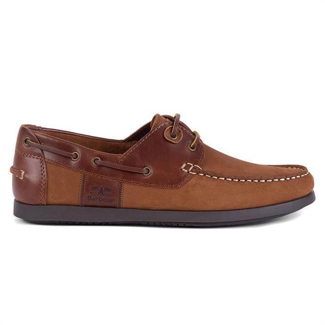Barbour Capstan Light Brown Boat Shoes