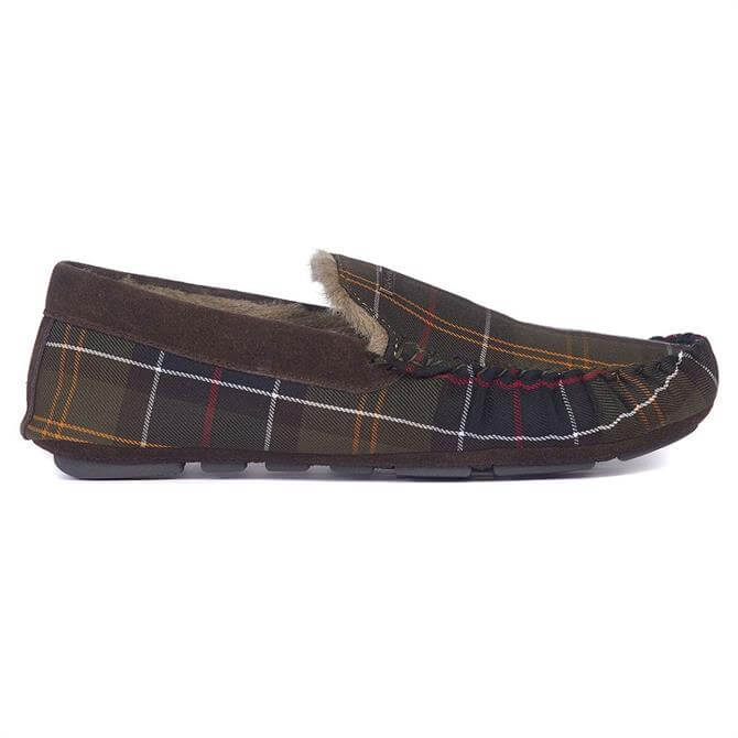 Barbour Monty Tartan Moccasin Slippers