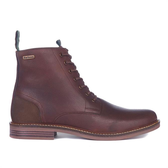 Barbour Seaham Leather Derby Boots