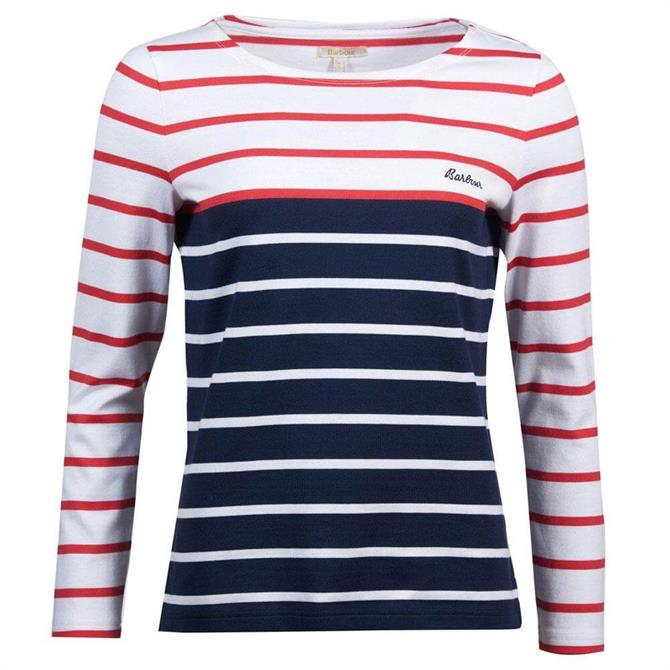 Barbour Hawkins Women's Striped Top