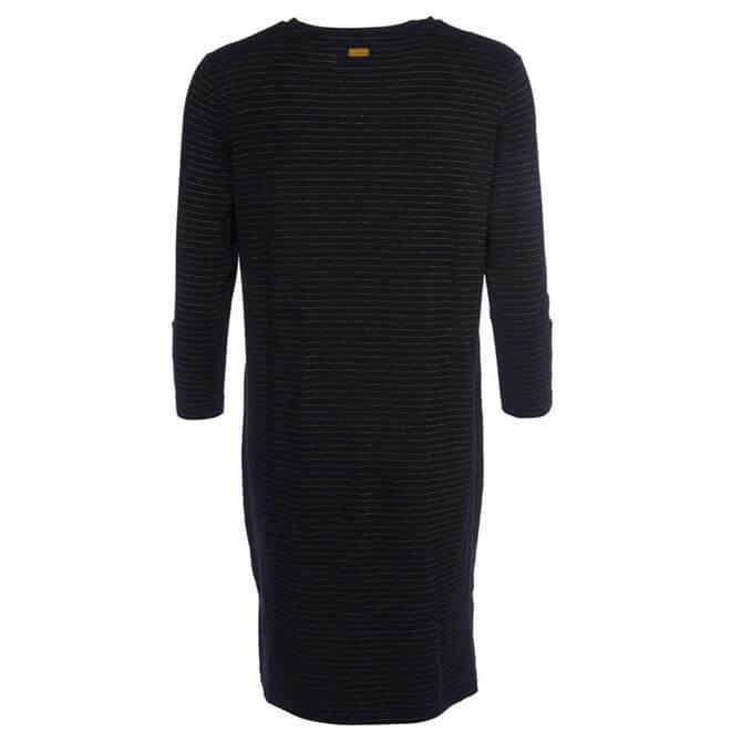 Barbour International Lydden Striped Jersey Dress