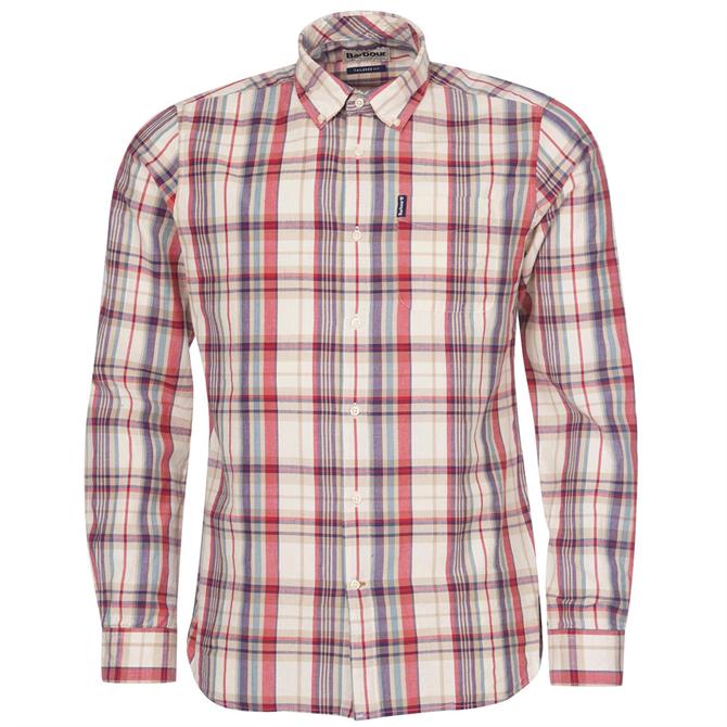 Barbour Madras 8 Tailored Shirt