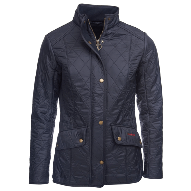 Barbour Cavalry Navy Polarquilt Jacket