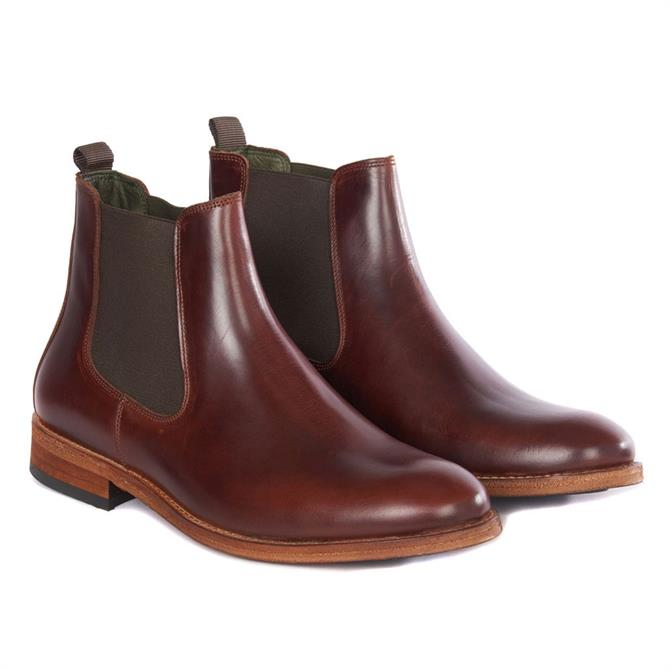 Barbour Bedlington Chelsea Boot in Brown