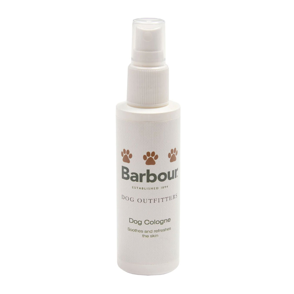 An image of Barbour Dog Cologne - ONE SIZE, WHITE