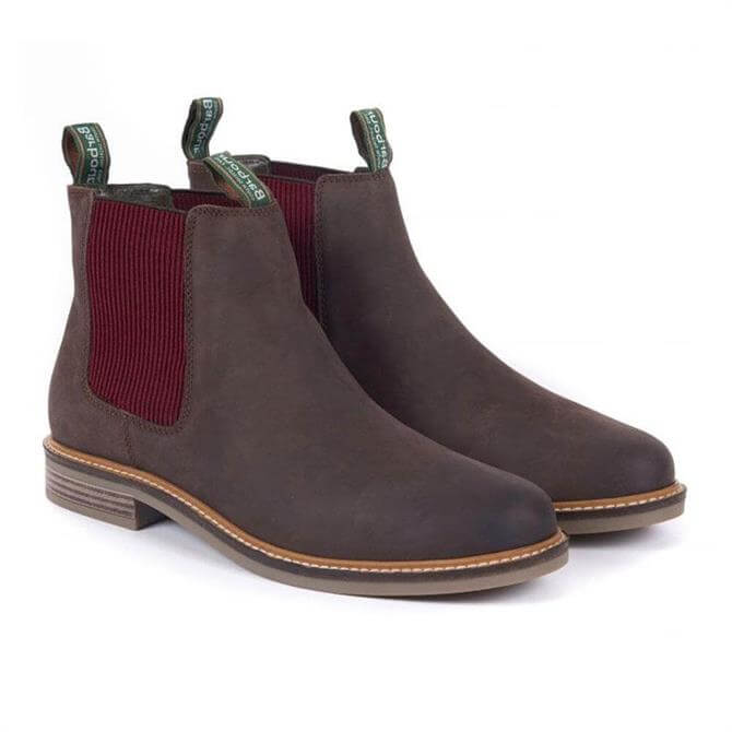 Barbour Farsley Chelsea Boots in Brown