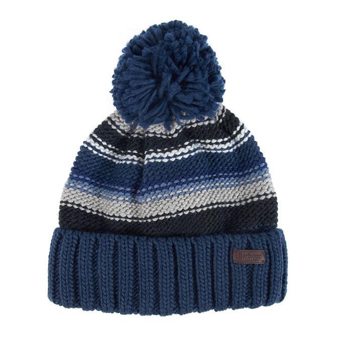 Barbour Harrow Stripe Beanie Hat