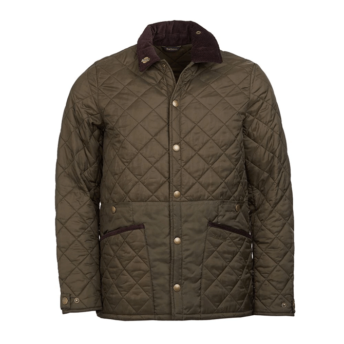 Barbour Icons Liddesdale Quilted Jacket - Olive