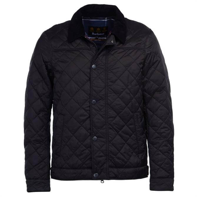 Barbour Black Lemal Quilted Jacket