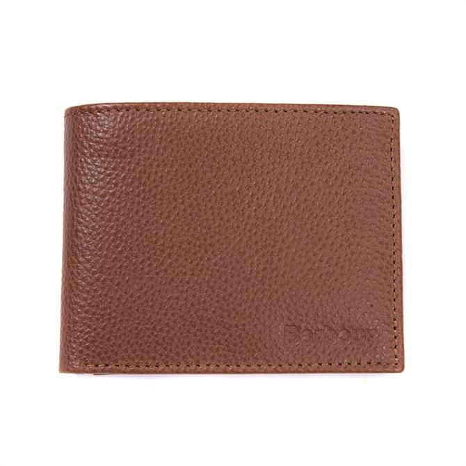 Barbour Leather Fold Out Wallet