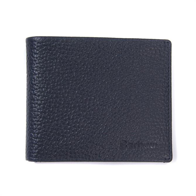 Barbour Laddon Leather Billfold Wallet