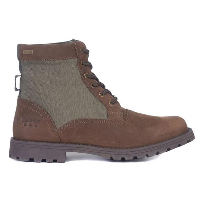 Barbour Cheviot Brown Waterproof Derby Boots